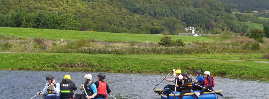 Learning & Development Event 2017 Day 2 – Raft Building/Archery/Zorbing