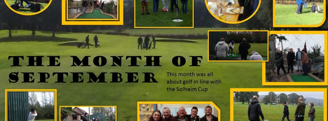 September – Golf Month